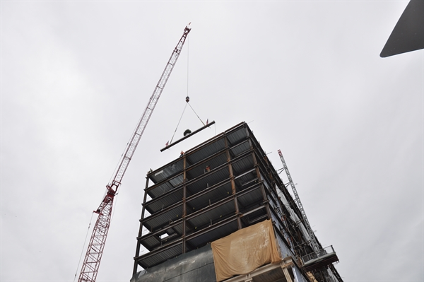 80 on the Commons Topping Out Ceremony