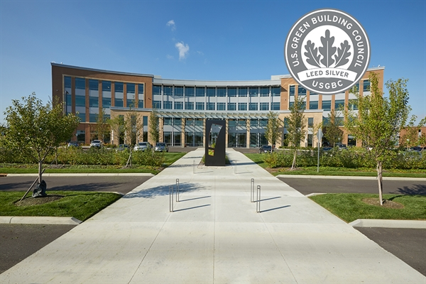 Big Lots Corporate Headquarters Officially USGBC LEED SILVER Certified